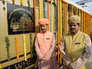 royal rajasthan on wheels, royal rajasthan