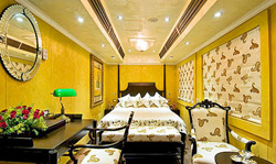 luxury train cabins
