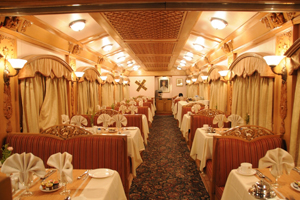 deccan odyssey dining room