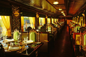 peacock restaurant in maharajas express